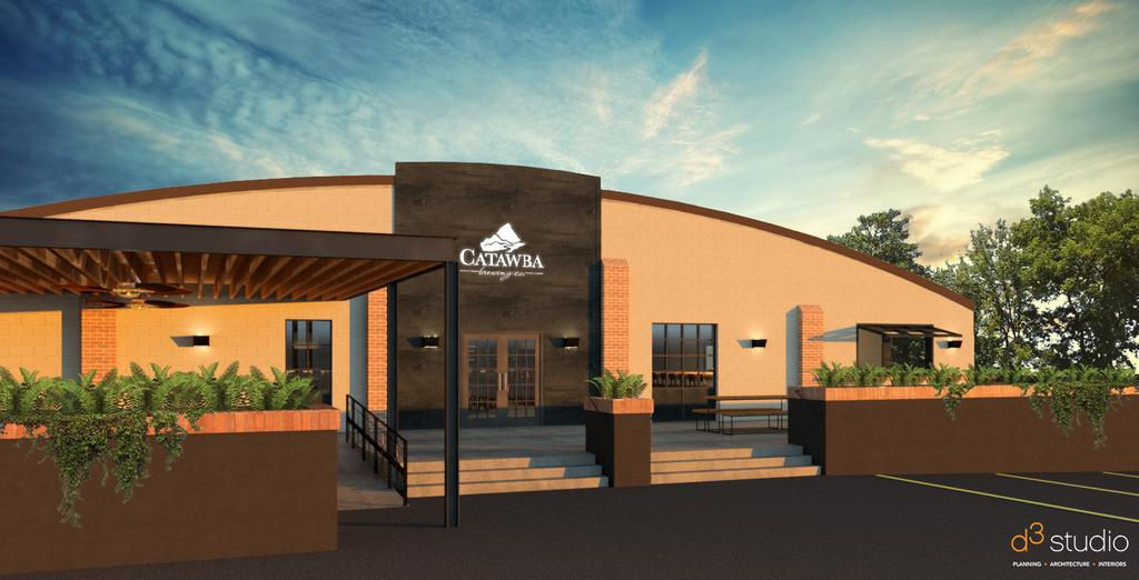 Sneak peek at Catawba Brewing's plans to open in Belmont
