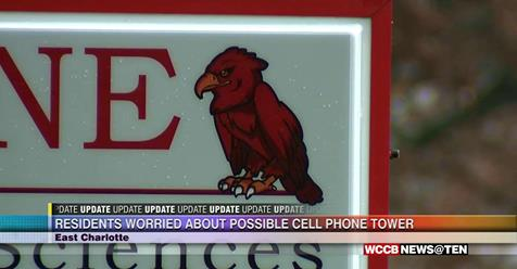 Residents Worried About Possible Cell Phone Tower