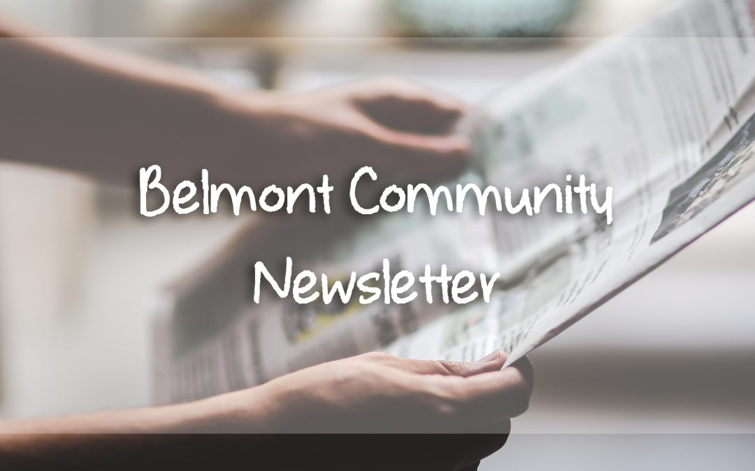 Belmont Community Newsletter: Issue 01
