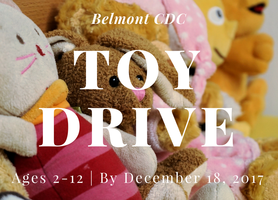 Belmont CDC Hosts Toy Drive