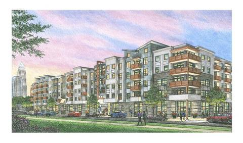 More Apartments Planned Along N. Davidson
